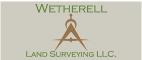 Wetherell Land Surveying LLC. logo
